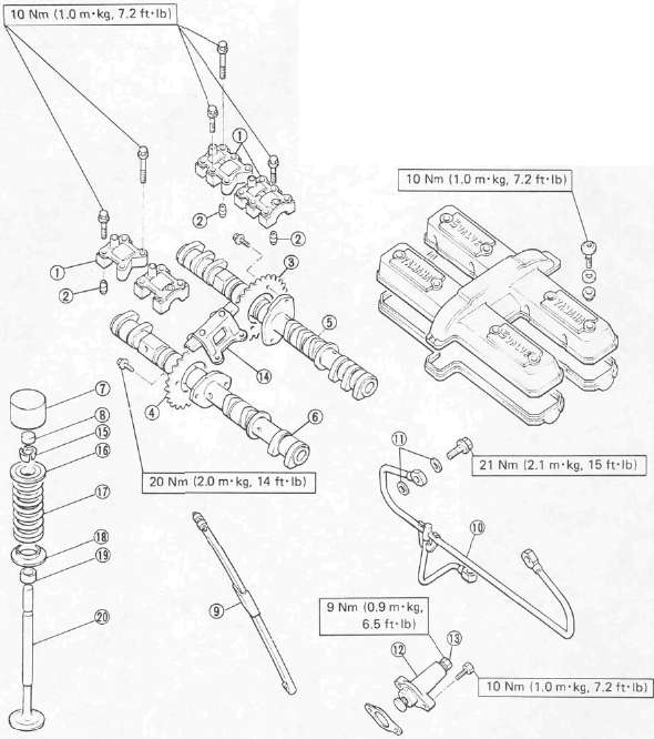 3 6 Timing Chain Mark Diagram