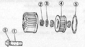 oil filter bolt 1