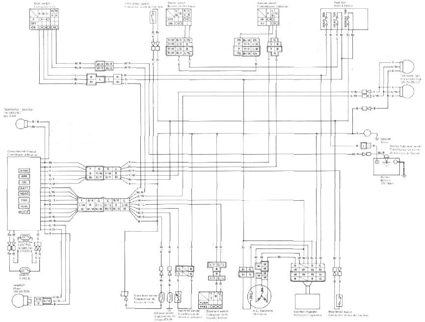 xj750 wiring diagram   20 wiring diagram images