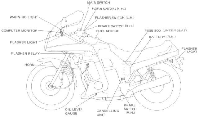 Automotive Lighting System Wiring Diagram - Wiring Diagram ...